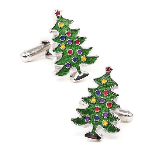 Cufflinks Inc. Decorated Christmas Tree Cufflinks
