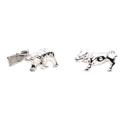 Ravi Ratan Bear and Bull Cufflinks