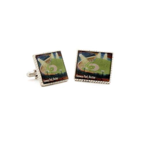 Penny Black 40 Fenway Park Stamp Cufflinks