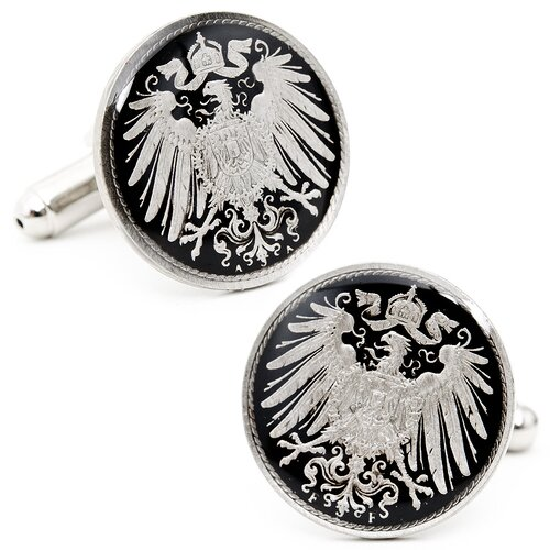 Penny Black 40 German Empire 5 Cent Coin Cufflinks