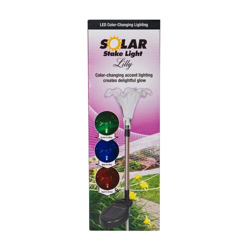 Headwind Consumer Products Solar Lily Garden Stake