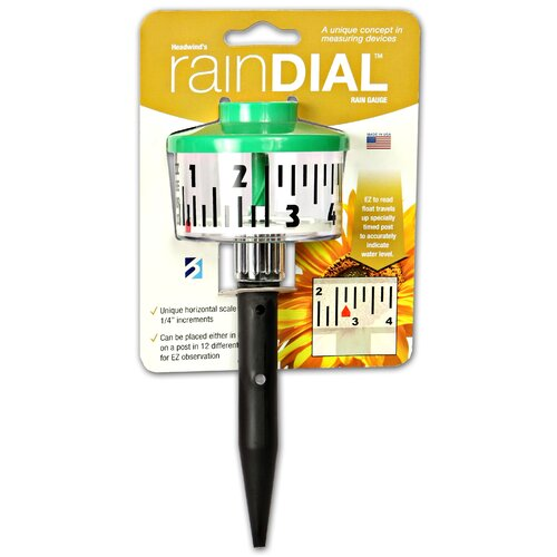 Headwind Consumer Products Rain Dial Rain Gauge