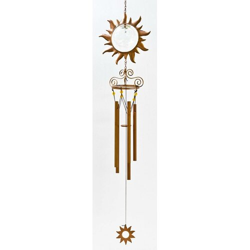 Solar Powered Sun LED Wind Chime