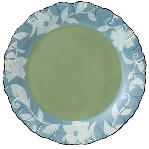 "Pfaltzgraff Patio Garden 13.5"" Flower Shaped Platter"