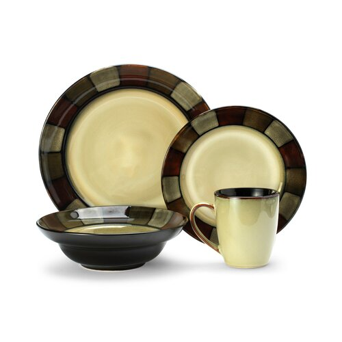 Taos Everyday 16 Piece Dinnerware Set