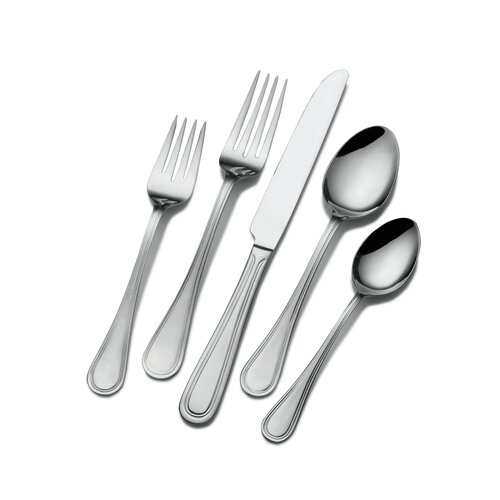 Basics 20 Piece Rockport Flatware Set