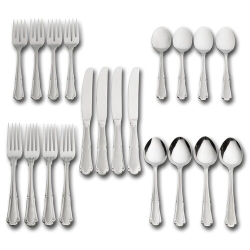 20 Piece Edgehill Flatware Set