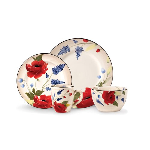 Scarlett 16 Piece Dinnerware Set