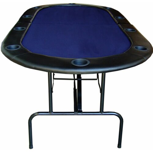 "JP Commerce 84"" Foldable Texas Hold'em Poker Table"