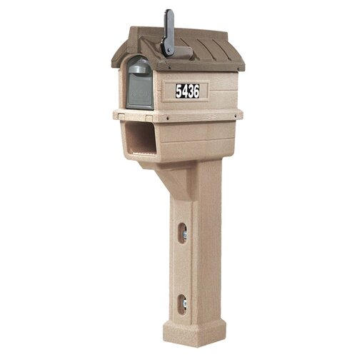 Timberline Plus Post Mounted Mailbox