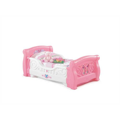 Girl's Toddler Sleigh Bed