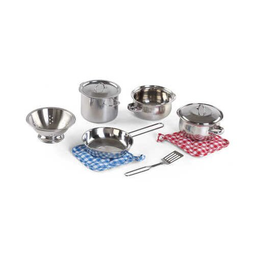 Step2 Cooking Essentials 10 Piece Stainless Steel Set