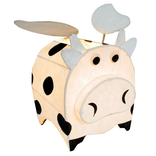 LumiSource Night Time Pals Cosmo the Cow Wings Table Lamp