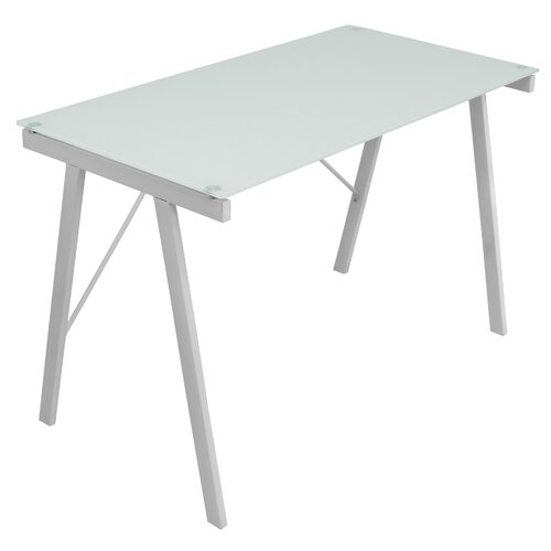 LumiSource Printed Blank Office Writing Desk