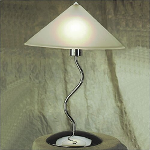 """LumiSource Contemporary Lighting Doeli Touch 19"""" H Table Lamp"""