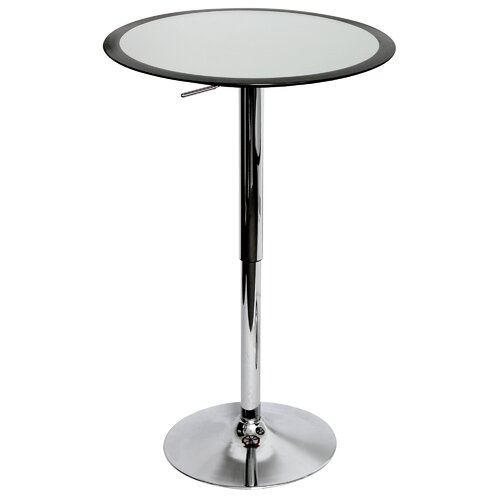 Ribbon Adjustable Height Pub Table