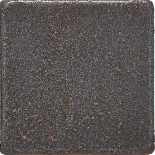 "Daltile Castle Metals 2"" x 2"" Basic Dot Decorative Accent Tile in Wrought Iron"