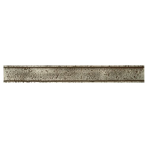 "Daltile Metal Signatures Chateau 12"" x 1-1/2"" Liner in Aged Iron"