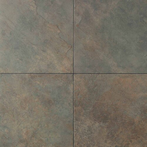 """Daltile Continental Slate 18"""" x 18"""" Field Tile in Brazilian Green"""