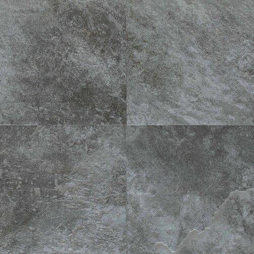 "Daltile Continental Slate 6"" x 6"" Field Tile in English Grey"