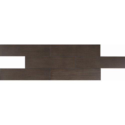 """Daltile Timber Glen 12"""" x 24"""" Contemporary Field Tile in Espresso"""