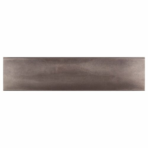"Daltile Urban Metals 12"" x 3"" Ellipse Decorative Wall Liner in Bronze"