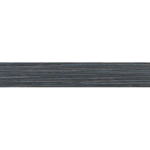 """Daltile Fabrique 4"""" x 24"""" Unpolished Field Tile in Noir Linen"""