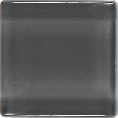 "Daltile Isis 1"" x 1"" Glass Mosaic Tile in Smoke Gray"
