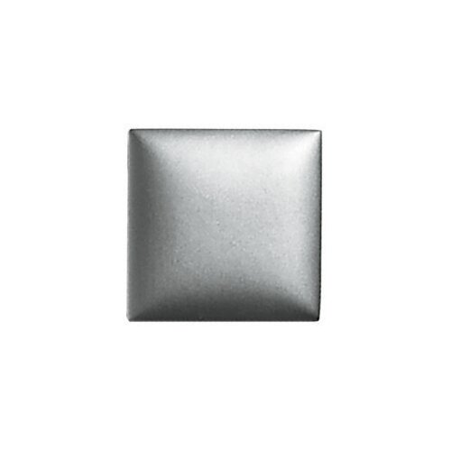 """Daltile Metallurgy 2"""" x 2"""" Small Square Field Tile in Pewter"""