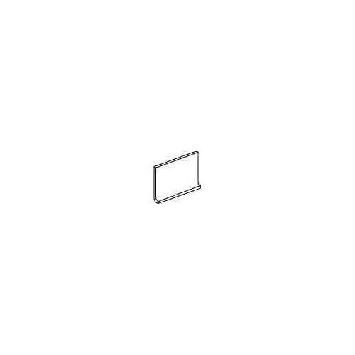 "Daltile Modern Dimensions 8.5"" x 4.25"" Flat Top Cove Base Tile Trim in Matte Biscuit"
