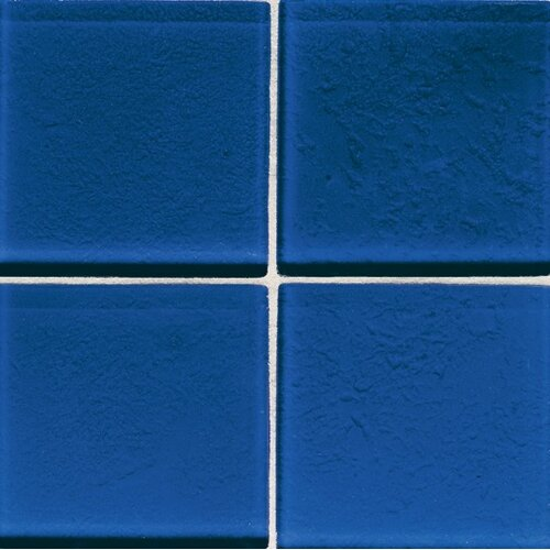 "Daltile Molten Glass 2"" x 2"" Wall Tile in Blue Hawaii"