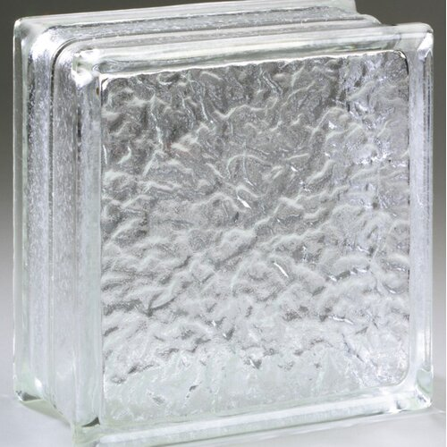 "Daltile Glass Block 8"" x 8"" Icescapes Block"