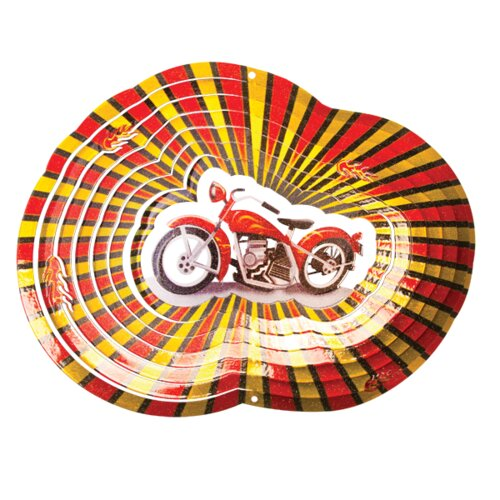 Designer Motorcycle Wind Spinner