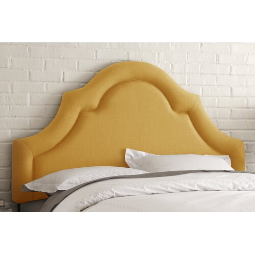 High Arch Linen Upholstered Headboard