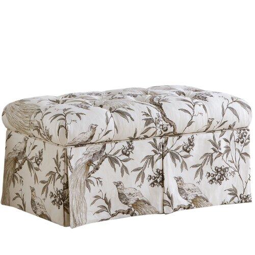 Roberta Upholstered Storage Bedroom Bench
