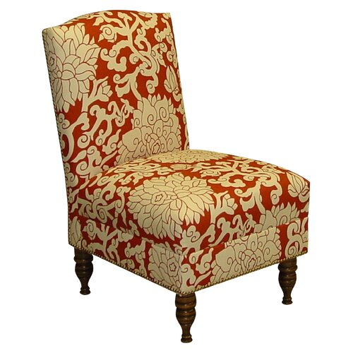 Athens Fabric Slipper Chair