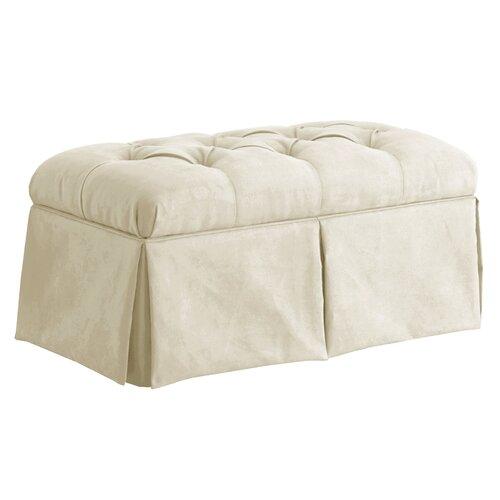 Tufted Regal Upholstered Storage Bench