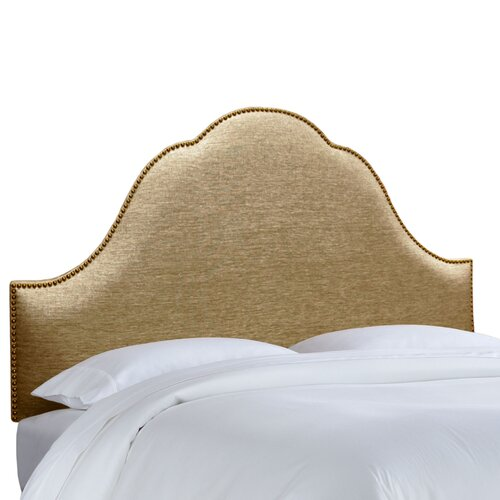 Skyline Furniture Nail Button Glitz Arch Headboard