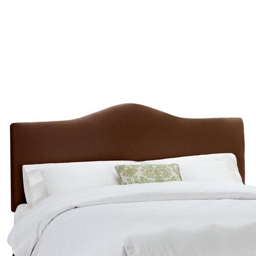 Skyline Furniture Shantung Upholstered Arched Panel Headboard