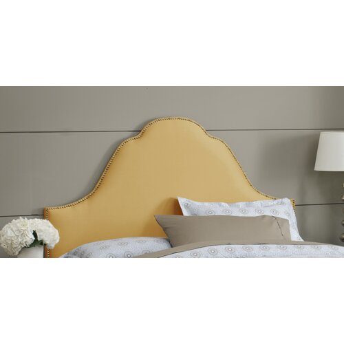 Plain High Arch Upholstered Headboard