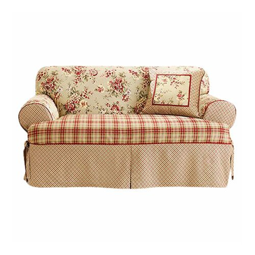 Sure-Fit Lexington Loveseat Skirted Slipcover