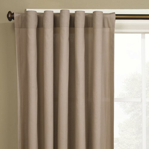 Sure-Fit Cotton Duck Curtain Single Panel