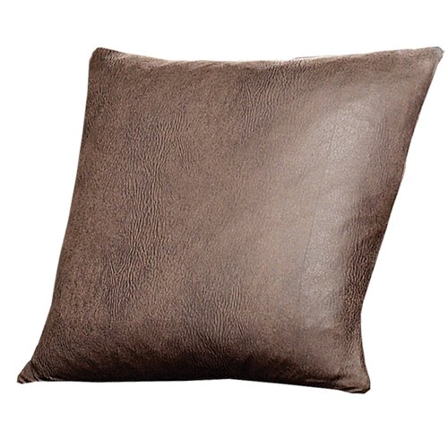 Stretch Leather Pillow