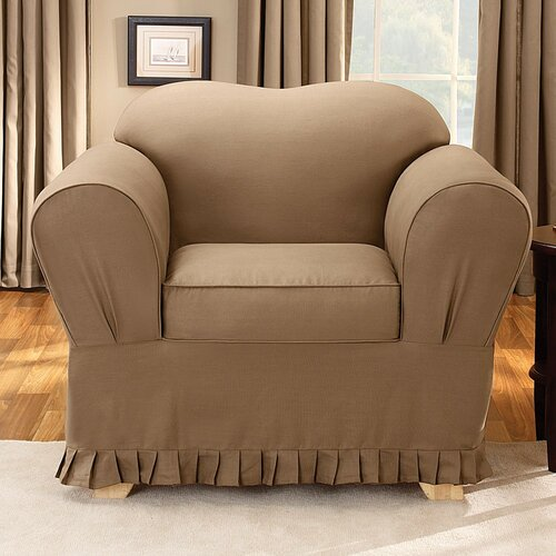 Sure-Fit Colette Club Chair Slipcover