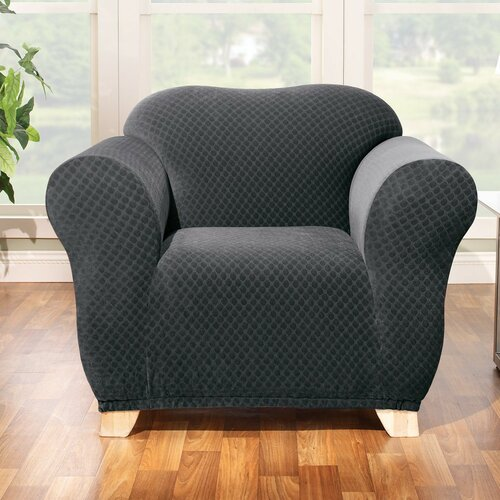 Sure-Fit Stretch Stone Chair Slipcover