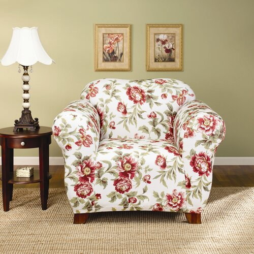 Sure-Fit Stretch Olivia Club Chair Slipcover