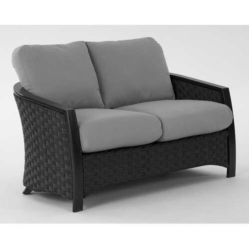 Luxe Loveseat with Cushions