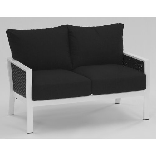 Parkview Woven Deep Seating Loveseat with Cushions