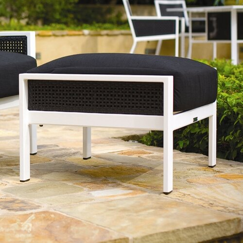 Koverton Parkview Woven Ottoman with Cushion