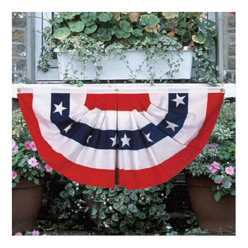 Valley Forge Flag Patriotic Pleated Flag